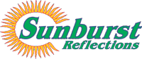 Logo for Sunburst Reflections Gift Shop in Oneonta NY