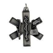 EMT & EMS Star of Life Keychain