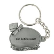 Engravable Graduation Keychain