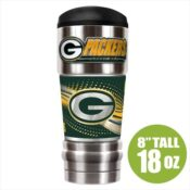 Green Bay Packers Insulated NFL Travel Mug