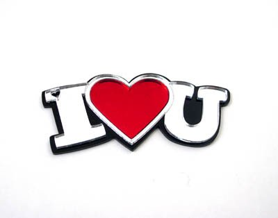 I Heart You Keychain For Valentines Day