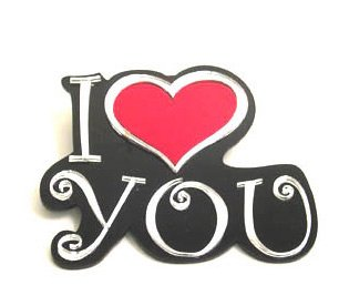 I Heart You Wall Plaque For Valentines Day