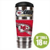 Kansas City Chiefs Insulated NFL Travel Mug