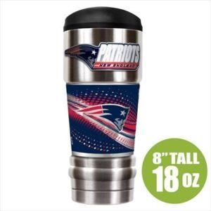 New England Patriots Insulated 18oz Stainless Travel Mug