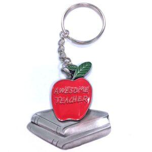 Teachers Apple Engravable Keychain