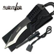 Survivor HK-759 Fixed Blade Survival Knife