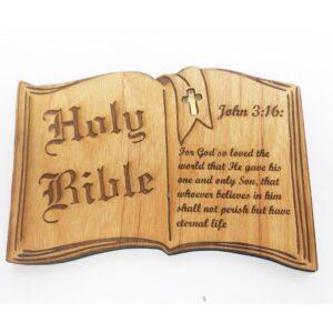 Bible Verse John 3:16 Magnet