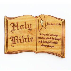 Bible Verse Joshua 1:9 Magnet