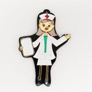 Personalized Nurse Acrylic Keychain