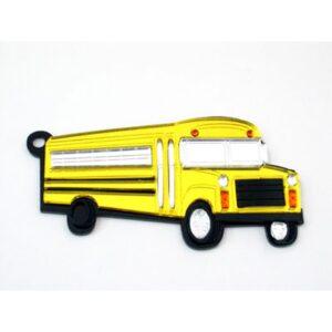 School Bus Engravable Acrylic Keychain