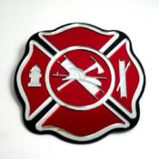 Fire Department Engravable Maltese Cross