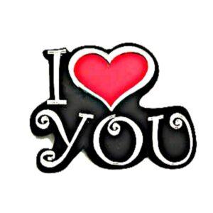 I Heart You Acrylic Engravable Wall Decor