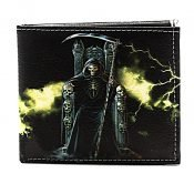 Grim Reaper Men's Wallet Vegan Leather SBVL 525