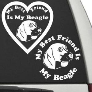 Beagle – My Best Friend Is My Dog Decal