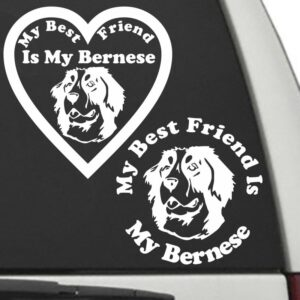 Bernese Mountain Dog – My Best Friend Is My Dog Decal