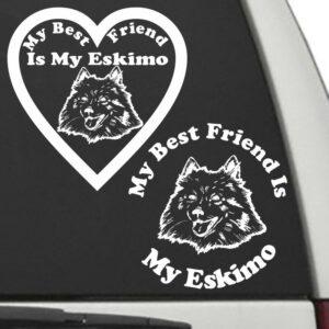 Eskimo – My Best Friend Is My Dog Decal