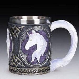 Unicorn Head Mug For Warm Beverages