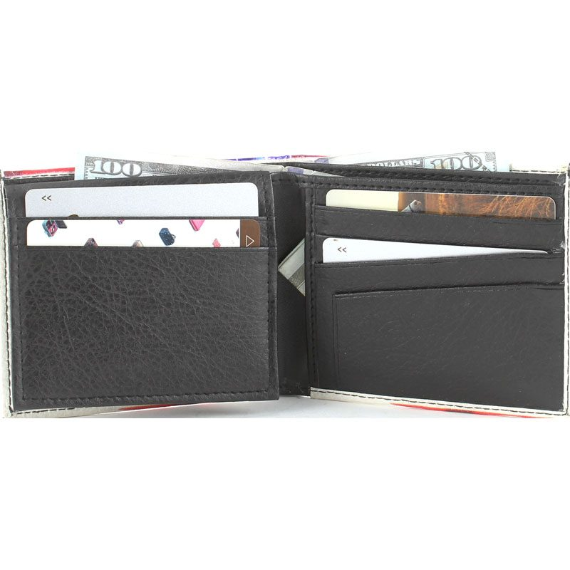 Vegan Wallet Open Inside SBVL 503