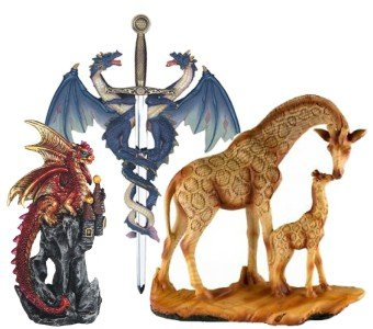 Fantasy & Animal Figurines