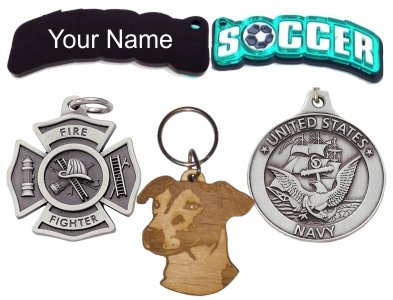 Personalized Engravable Keychains