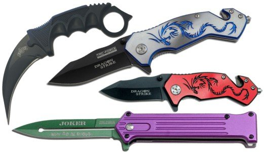 Pocket Knives & Swords Category Image
