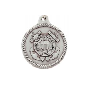 Coast Guard Engravable Pewter Keychain