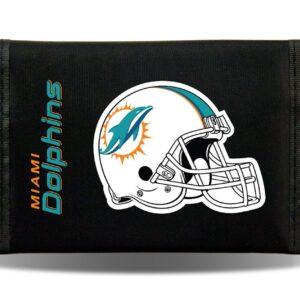 Miami Dolphins Helmet Logo Nylon Trifold
