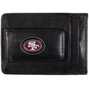 San Francisco Forty Niners Leather Cash & Cardholder