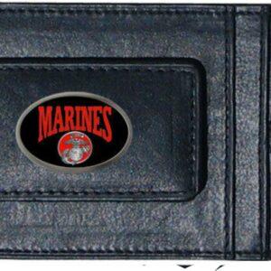 US Marines Leather Cash & Cardholder