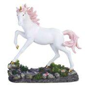 Unicorn With Pink Mane Prancing