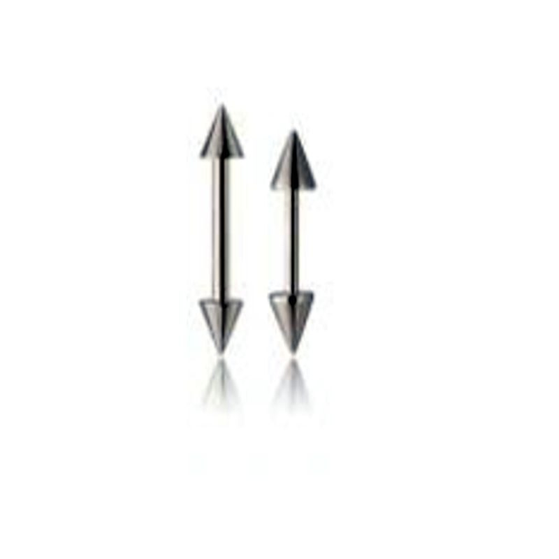 Mini Barbell With Spikes BVBS612