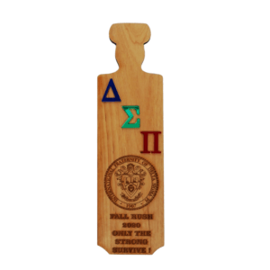 Greek Fraternity Wall Paddle