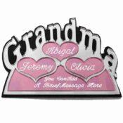 Grandma Pagoda Sample Hearts And Engraving SBWP181