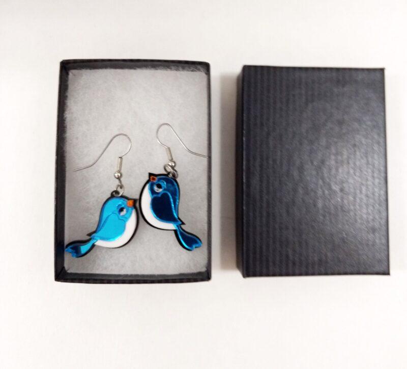 Bluebird Earrings In Gift Box SBER4