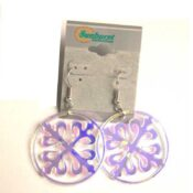 Celtic Circle Earrings Radant Acrylic