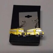School Bus Earrings