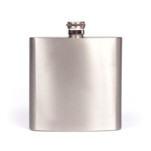 Stainless Steel 7oz Flask Customizable in Full Color