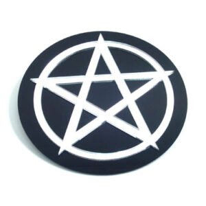 Pentacle in a Circle Wall Decor